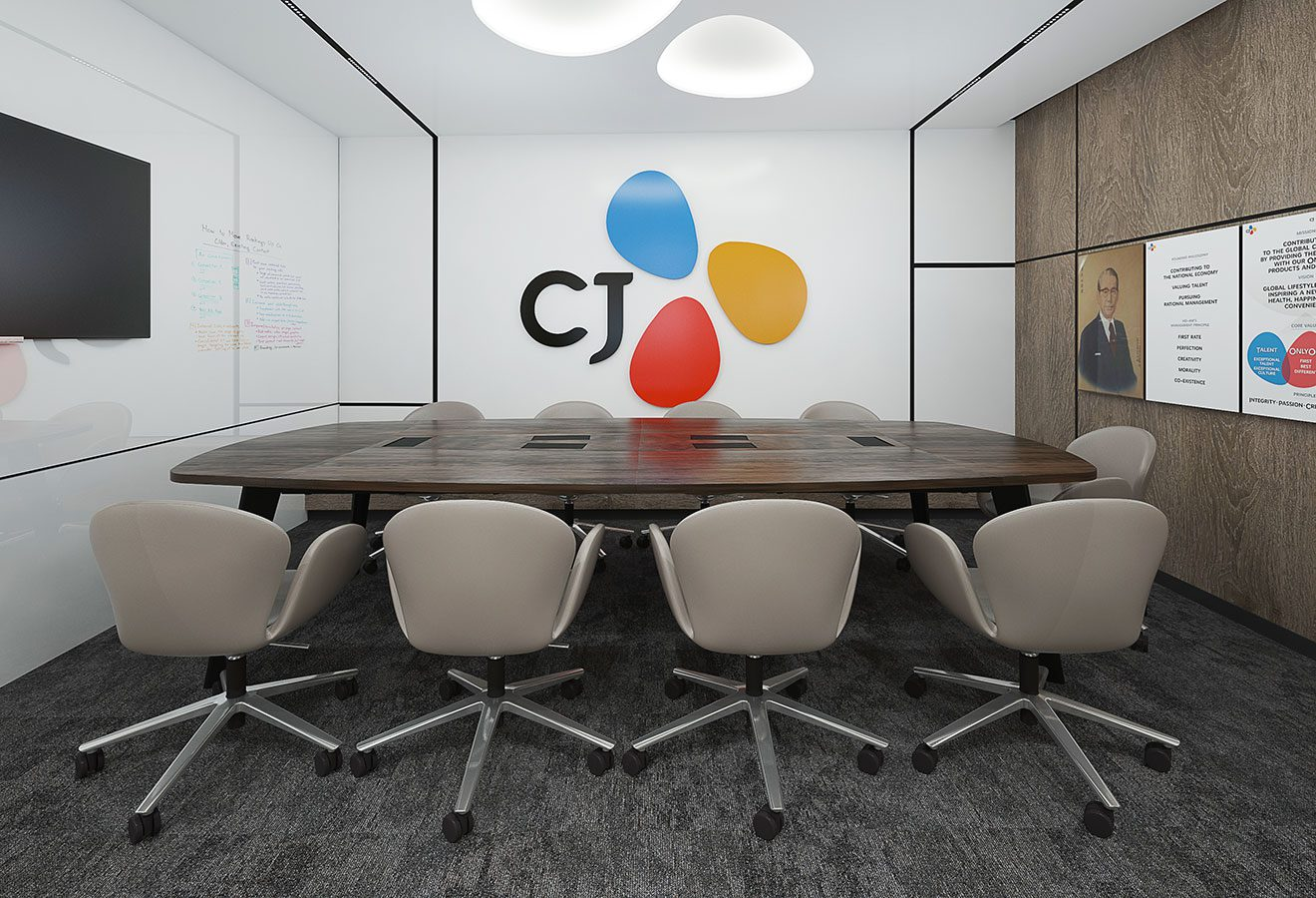 CJ CORPORATION OFIS